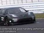 Nissan Leaf Nismo RC electric race car shakedown testing