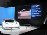 Nissan Leaf Nismo RC Concept: New York Auto Show Live Photos