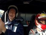 Nissan Leaf owners take hot laps in the Leaf Nismo RC electric race car