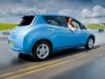 Nissan Leaf Reverse World Record