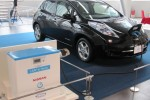 Nissan Leaf-To-Home Electric-Car Powe