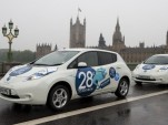Nissan Leafs replace black cabs in London