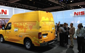 Nissan Steals Attention And Feeds The Press At 2011 Los Angeles Auto Show