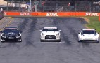 Nissan Time Attack: GT-R NISMO GT3 Vs. Leaf NISMO RC Vs. Altima V8 Supercars: Video