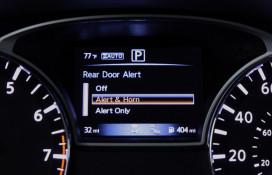 Nissan Rear Door Alert