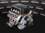 Nissan VK56DE racing V-8 engine