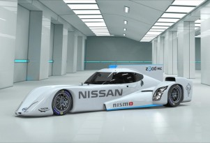 Nissan's Electric ZEOD Race Car Revealed In Full: Video