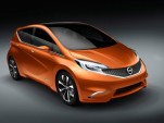 Nissan Invitation Concept Subcompact Live Gallery: 2012 Geneva Motor Show