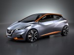 Nissan Sway Concept Sets The Look For Future Small Cars—And Leaf?