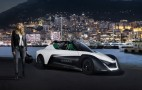Margot Robbie races BladeGlider around Monaco as Nissan's new EV ambassador