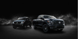 2018 Nissan Midnight Edition trucks turn out the lights
