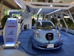 Nissan's 10 minuite rapid charger