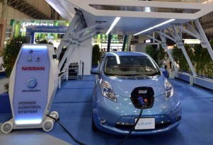 Nissan Develops 10-Minute Rapid Charger For Leaf Electric Car