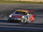 No. 45 Flying Lizard Porsche at Petit Le Mans - Anne Proffit photo
