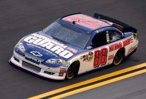 No. 88 National Guard Chevrolet - NASCAR photo