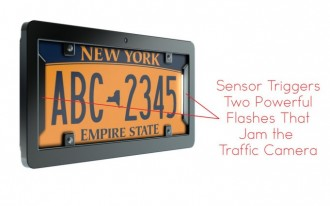 Prototype Of The Week: noPhoto Frame Foils Traffic Cameras