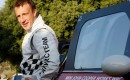 Northern Irish rally driver Kris Meeke