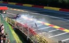 Ford GT crashes hard in 2016 WEC's 6 Hours of Spa