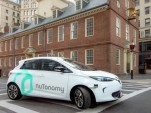 nuTonomy autonomous Renault Zoe in Boston