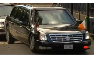 Obama Limo Gets High-Centered: Today In Car Mishaps