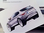 Official BMW X4 preview sketch