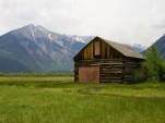 Old cabin near Twin Lakes, along Colorado's Top of the Rockies Scenic Byway