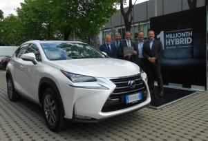 Lexus has sold 1 million luxury hybrid vehicles in 11 years