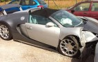 Bugatti Veyron Grand Sport Crashes In Saint-Tropez