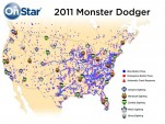 "OnStar's ""Monster Dodger"" service. Image: GM Corp."