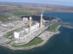 Coal-fired Nanticoke Generating Station, Ontario, Canada, now being converted to 44-MW solar farm