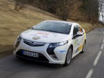Opel Ampera at the Monte Carlo Rally