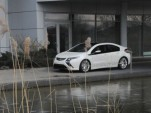Opel Ampera during photo shoot