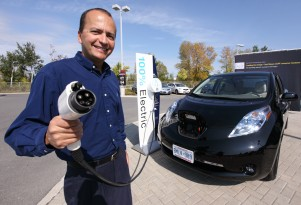 Canada's first Nissan Leaf electric car driver: still committed after five years
