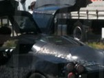 Pagani C9 supercar spied with gullwing doors
