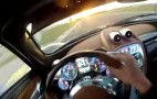 Pagani Huayra From The Driver's Point Of View: Video