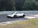 Pagani Huayra BC seen testing at the Nürburgring