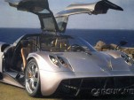Pagani Huayra leaked image. Via CarsUK.