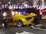 Pagani Zonda F destroyed in Dubai crash