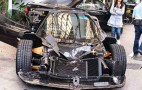Pagani Zonda F Destroyed In Hong Kong Crash