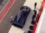 Pagani Zonda Revolucion at a race track in Italy
