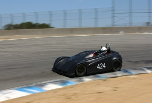 Palatov dp4 testing at Laguna Seca