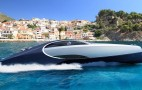 Bugatti Chiron-inspired yacht has Jacuzzi, champagne bar and even a fire pit