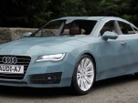 Papercraft Audi A7