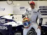 Pastor Maldonado joins Williams F1 for the 2011 season