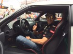 Pastor Maldonado receives his new Lotus Evora S