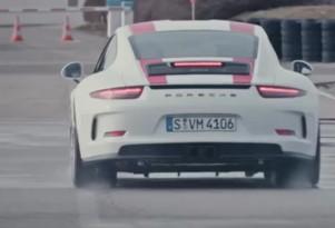 Patrick Long and the 2016 Porsche 911 R