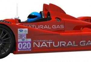 Patrick Racing Le Mans Prototype Challenge race car