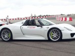 Paul Bailey's Porsche 918 Spyder moments before the crash - Image via Omar Buhagiar