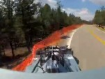Paul Dallenbach crashes at Pikes Peak 2012