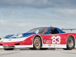 Paul Newman's last race car, a 2002 Riley & Scott Trans Am Chevrolet Corvette